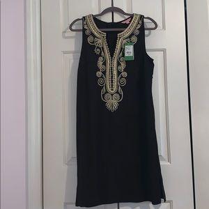 NWT black Lilly Pulitzer dress. Women's sz 10.